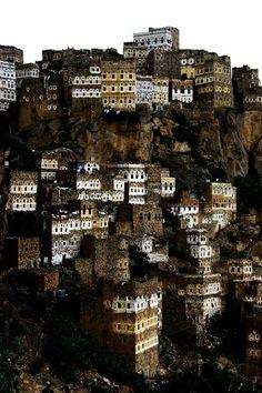 h4ilstorm:  Al Hajjara - Yemen (by Eric Lafforgue)