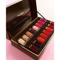 Tom Ford Exclusive 16 Color Nail Set ($480) ❤ liked on Polyvore