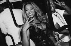 Beyoncé & JayOn The Run Tour  Backstage Stade de France Paris 13th September 2014