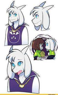 Asriel and Chara Undertale Drawings, Undertale Fanart, Undertale Comic, Asriel Wallpaper, Best Indie Games, Mega Lucario, Pokemon, Best Rpg, Cute Goats
