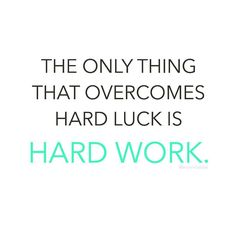 Don't hope to be lucky. Be strong enough to work hard every day without fail. You can't cheat your constant effort determination and persistence towards what you want. When you put in the work its not a matter of IF you will get it but WHEN  abx  #freshbodyfitmind http://ift.tt/1U5T7vu by amandabisk