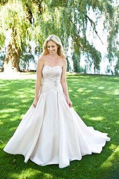 Lea-Ann Belter Bridal - Sasha  I love the waist detail