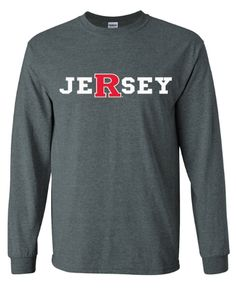 Make sure to get your JeRsey apparel from University Tees! Get the Jersey design that shows your Rutgers pride in either a t-shirt, long sleeve shirt, or sweatshirt!    VISIT HERE TO ORDER YOUR APPAREL TODAY:  http://shop.universitytees.com/