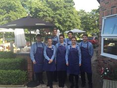 New uniforms for our restaurant and bar staff at The Cottons Hotel & Spa
