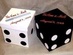 Items similar to Money Box, Die Design, Las Vegas Card Box, Cube Box, Wedding Card Box With Slot on Etsy Tema Las Vegas, Las Vegas Party, Vegas Theme, Casino Night Party, Casino Theme Parties, Party Themes, Diy Card Box, Diy Box, Card Boxes