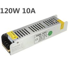 Mini 120W Switching Power Supply 85-265V to 12V 10A for LED Strip Light  Worldwide delivery. Original best quality product for 70% of it's real price. Buying this product is extra profitable, because we have good production source. 1 day products dispatch from warehouse. Fast &...