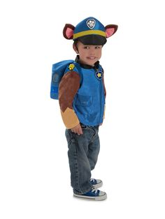 The Paw Patrol Toddler Boys Deluxe Chase Costume is the perfect 2019 Halloween costume for you. Show off your Baby costume and impress your friends with this top quality selection from Costume SuperCenter! Chase Paw Patrol Costume, Paw Patrol Halloween Costume, Chase Costume, Toddler Boy Costumes, Toddler Halloween Costumes, Baby Costumes, Movie Costumes, Adult Costumes, Paw Patrol Disfraz
