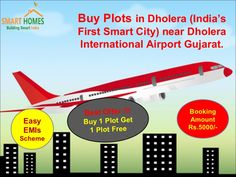 Book Online Residential Plots/Lands in Dholera (India's First Smart City) Gujarat at affordable price. For More Information-- Please Visit Us : http://bit.ly/1TKDYwm