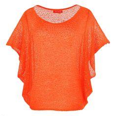 Pull Kamichi orange - derhy   Brandalley V Neck, Shopping, Orange, Tops, Women, Fashion, Womens Fashion, Moda, Fashion Styles