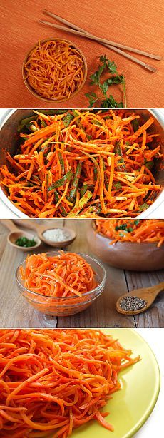 Морковь по-корейски: тонкости приготовления