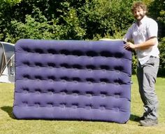 How To Inflate An Air Bed Without A Pump | http://homestead-and-survival.com/how-to-inflate-an-air-bed-without-a-pump/