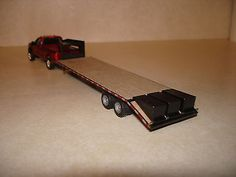 1 64 Custom Scratch Built Gooseneck 5th Wheel Trailer with Ramps ...