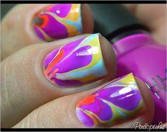 Marble Nail by Penélope Luz, via Flickr
