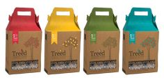 #packaging #box Seed Packaging, Packaging Design, Bird Tree, Marker, Seeds, Chips, Behance, Branding, Graphics