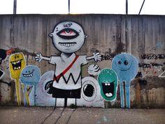 Mostar Street Art - Charlie Brown