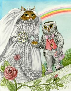 'The Owl and the Pussycat' by Ruth Sanderson