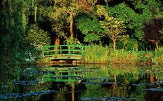 Claude Monet's Garden in Giverny, France—one of the Europe's 15 most picturesque gardens