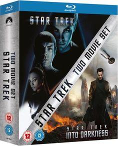 Star Trek / Star Trek Into Darkness Blu Ray Twin Set NOW £8.99 at Zavvi FREE DELIVERY