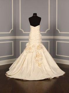 Amsale Blue Label M612 Analisa Couture Wedding Gown~ Discount Designer Bridal Dress