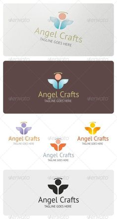 Angel Crafts  - Logo Design Template Vector #logotype Download it here: http://graphicriver.net/item/angel-crafts-logo-template/4231935?s_rank=983?ref=nexion