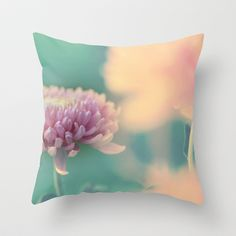 Autumn/秋菊 6  Throw Pillow by Katherine Song  - $20.00