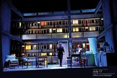 Production Shot - #NTLive's #Skylight - Bill Nighy (Tom Sergeant) and Carey Mulligan (Kyra Hollis). Coming to Riverside's screen 25 October - 2 November. #RiversideScreen