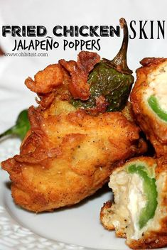 Fried Chicken Jalapeno Poppers are the best of both worlds! These will rock your snack world.