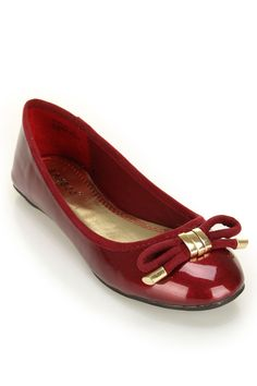 patent leather and bows