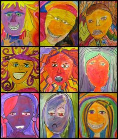 expressive portraits.   by artsy_T