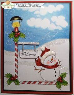 Home of the largest selection of clear face stamps in the world! Christmas Cards To Make, Xmas Cards, Peachy Keen Stamps, Saint A, Snow Globes, Snowman, Card Making, Stamping, Card Ideas