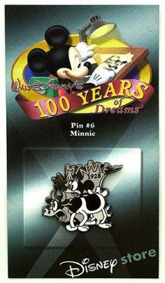 Disney Trading Pins - 100 Years of Dreams - Pin #6 - Minnie Disney http://www.amazon.com/dp/B00TCS91J2/ref=cm_sw_r_pi_dp_vOsIvb1XZFPW0