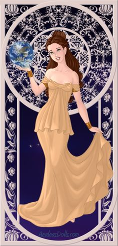 Goddess Belle by A1r2i3e4l5.deviantart.com on @deviantART