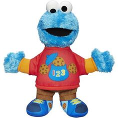 Playskool Sesame Street Talking 123 Cookie Monster Figure