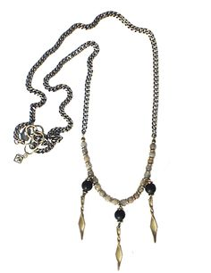 Chandelier Drop Drop Necklace, Beaded Necklace, Pendant Necklace, Fall Winter 2014, Chandelier, Jewelry, Fashion, Beaded Collar, Moda