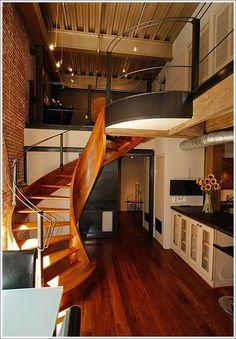 beautiful staircases | Not So) Simply For Our Love Of A Beautiful Staircase at SocketSite™