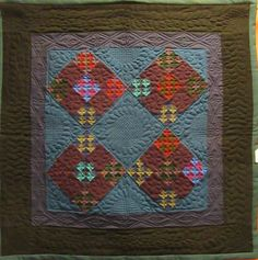 25 Brilliant Helpful hints For Amish Quilt Patterns, Amish Quilts, Antique Quilts, Vintage Quilts, Nine Patch Quilt, Small Quilts, Quilt Making, Quilting Designs, Textile Art