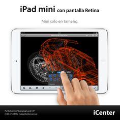 iPad mini con pantalla Retina. Mini sólo en tamaño.