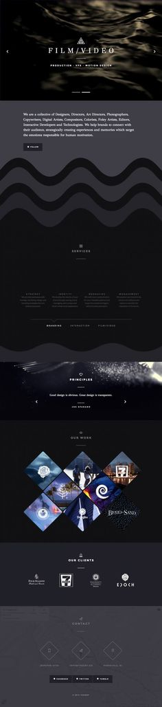 THEORY - An Experience Design Company www.niceoneilike.com #Agency, #Mobile, #Responsive #Design, #jQuery, #Development, #Creative, #Inspiration, #Scrolling #Site, #Design, #Website