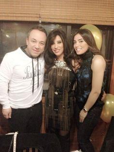 Bassam Fattouh and Najwa Karam wishing her a Happy Birthday!