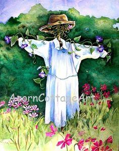 "Garden Art...""Cosmo Caren""...8x10 print"