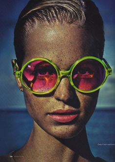 Rose-tinted glasses (with a hint of neon).