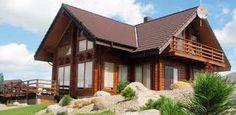 Resultado de imagen de casas de madera Gazebo, Outdoor Structures, Cabin, House Styles, Home Decor, Google, Ideal House, Timber Buildings, Small Wooden House