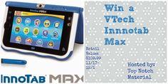 Krazy Kat Freebies: VTech Innotab Max Giveaway