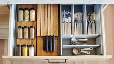Image result for organised kitchen