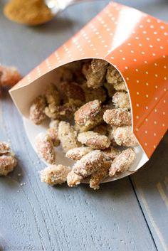 Delicious Pumpkin Pie Spiced Sugared Almonds