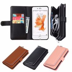 Removable Magnetic Wallet Case for iPhone 6 Plus & 6s Plus  Worldwide delivery. Original best quality product for 70% of it's real price. Hurry up, buying it is extra profitable, because we have good production sources. 1 day products dispatch from warehouse. Fast & reliable...