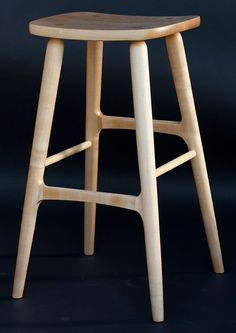 The Berry Barstool in Maple