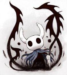 Knight Drawing, Knight Art, Dark Fantasy Art, Dark Art, Art Sketches, Art Drawings, Character Art, Character Design, Team Cherry