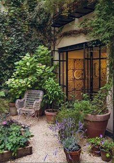 garden design Ideas patio - 50 DIY Garden Layout Plans for Your Back Yard and Front Yard Garden Cottage, Diy Garden, Dream Garden, Garden Art, Small Cottage Garden Ideas, Cozy Cottage, Garden Design Plans, Modern Garden Design, Modern Design