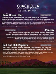 Coachella music festival...will go one day.